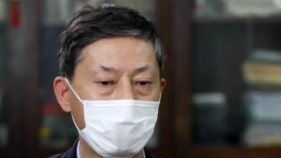 Yuan Zhiming, director del Laboratorio de Virología de Wuhan, en China.