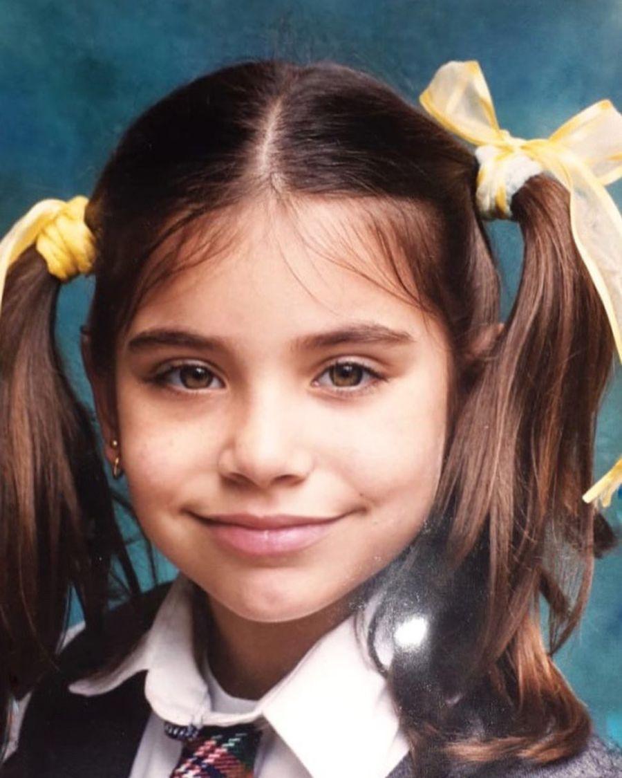 Mirá las fotos retro que eligió Eva de Dominici para celebrar sus 25 años