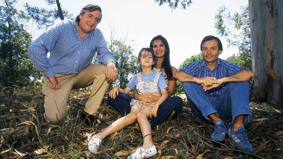 Beliz con Néstor y Cristina Kirchner