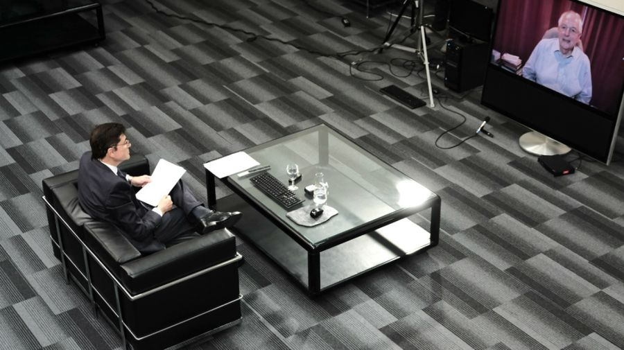 Martín Wolf, en la entrevista con Jorge Fontevecchia.