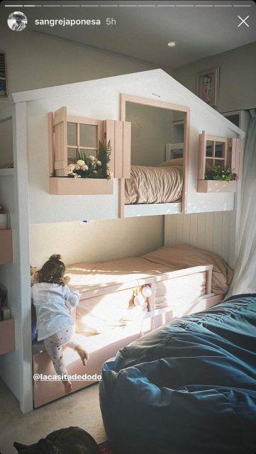 La habitación de Rufina Cabré y Magnolia Vicuña