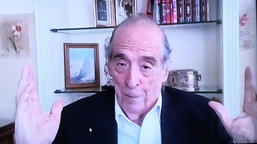 Ricardo Arriazu, en el reportaje con Jorge Fontevecchia.