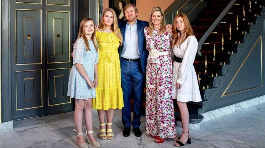 Guillermo de Holanda cumple años en cuarentena junto a Máxima y sus hijas