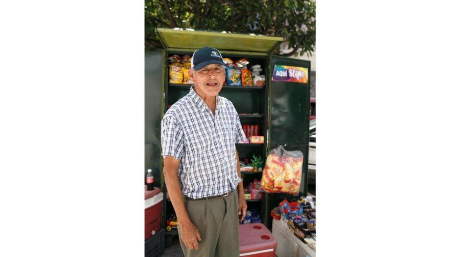 Marcelo Altamiranda tiene 80 años.