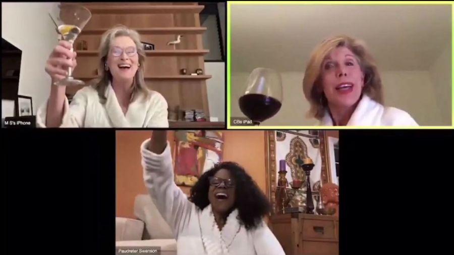 Meryl Streep, Audra McDonald y Christine Baranski