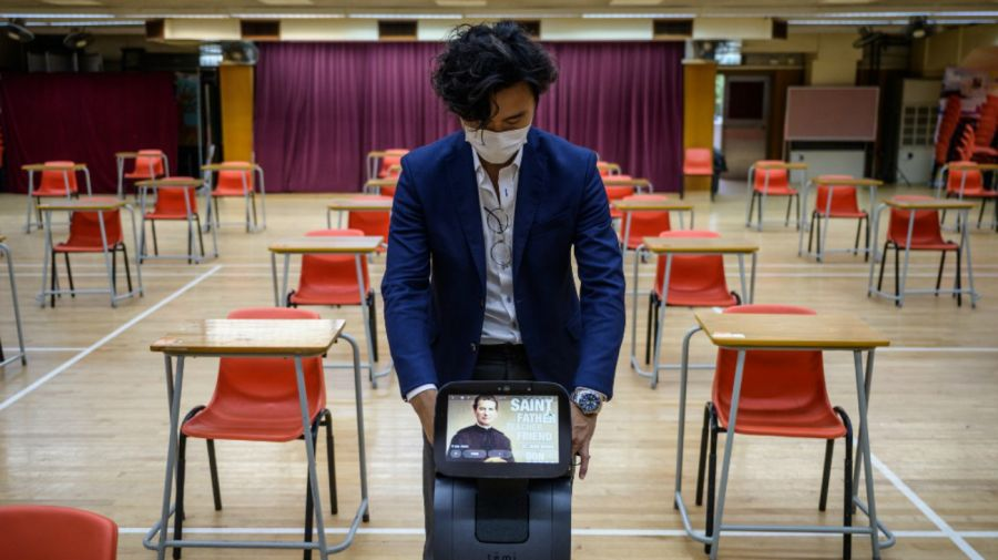Regreso a clases en Hong Kong