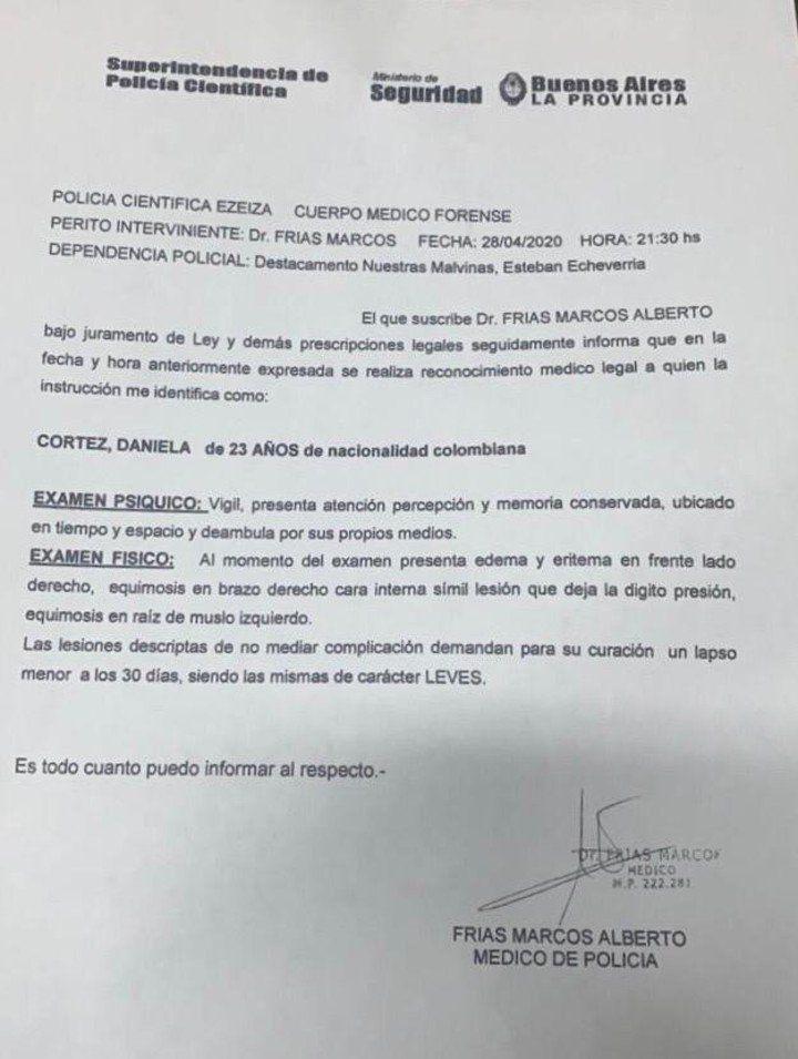 Denuncia Cortés