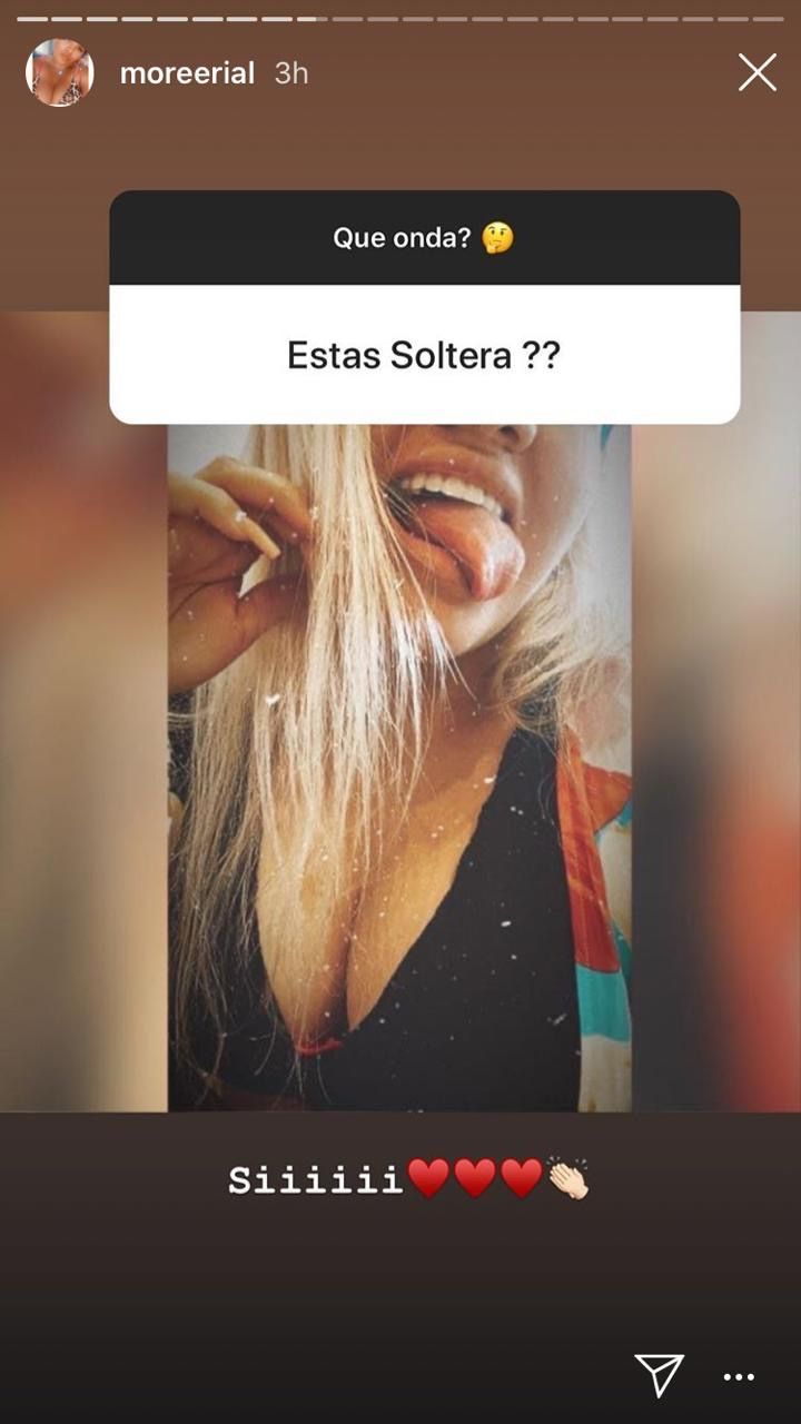 Morena Rial reconoció que está soltera que su pareja la volvió a engañar