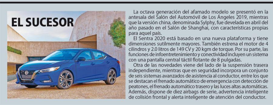 Nissan Sentra nueva generación