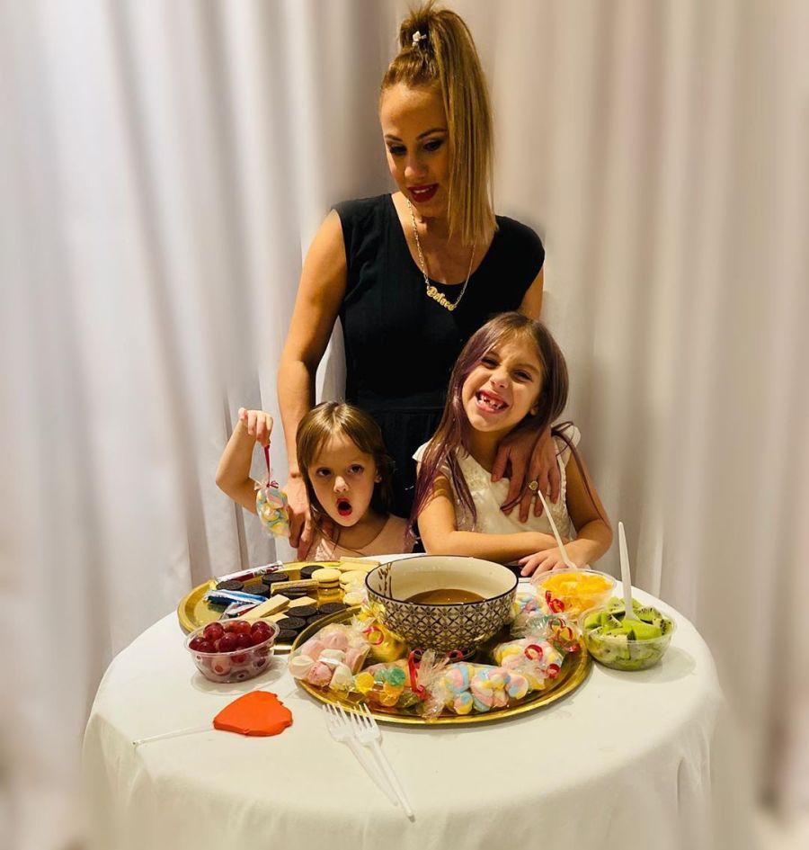 Barby Silenzi celebró su cumpleaños en cuarentena de una particular manera