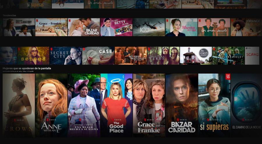 Mujeres Netflix
