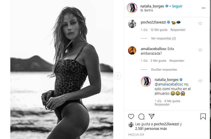 La palabra de la novia de Pocho Lavezzi, tras los rumores de embarazo