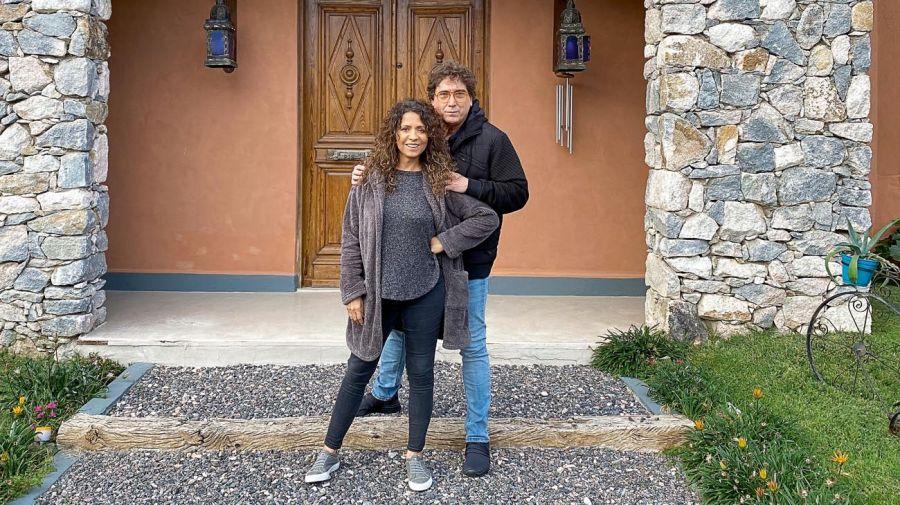 Patricia Sosa y Oscar Mediavilla viven una historia mágica