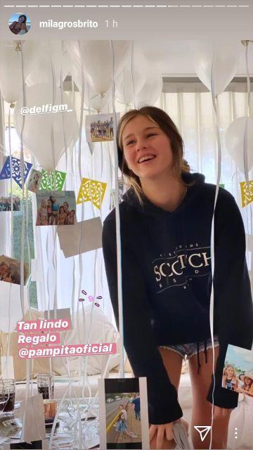 El regalo de Pampita a Delfina García Moritán por su cumpleaños