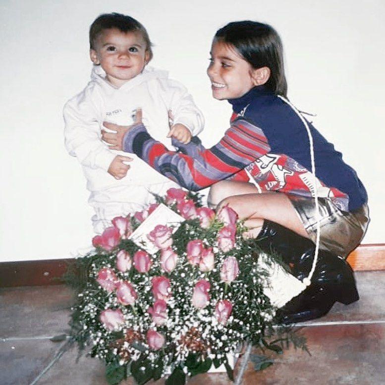 Eva de Dominici homenajeo a su hermana por su cumpleaños con una foto súper retro