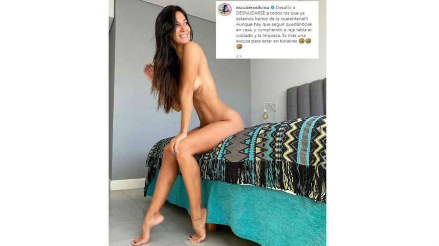 Silvina Escudero desnuda