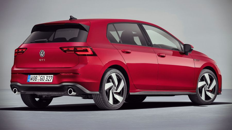 This is the eighth generation Volkswagen Golf GTI