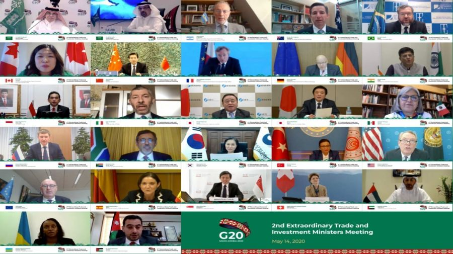 g20 reunion ministros finanzas y comercio cancilleria 20200514