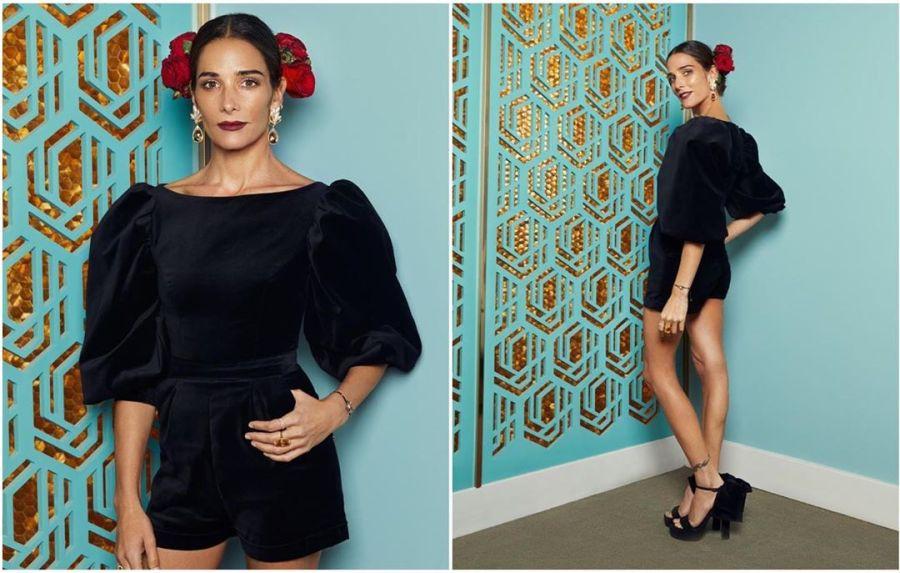 Juana Viale homenajeó a su abuela con su look al frente de