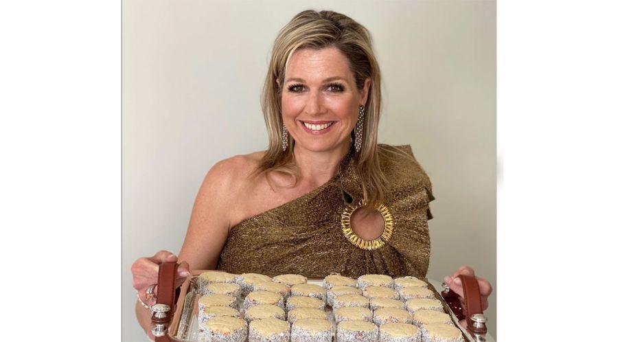 Máxima celebra su cumpleaños dando la receta argentina de alfajores de maizena