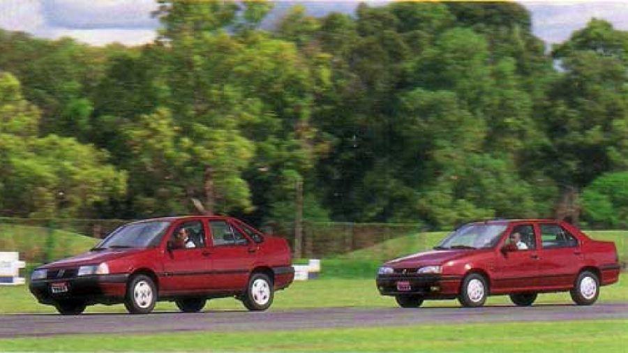 Renault 19 vs Fiat Tempra