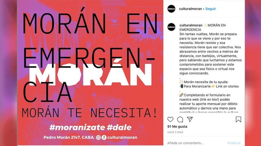 La vaquita de Costa: su centro cultural pide donaciones para no cerrar