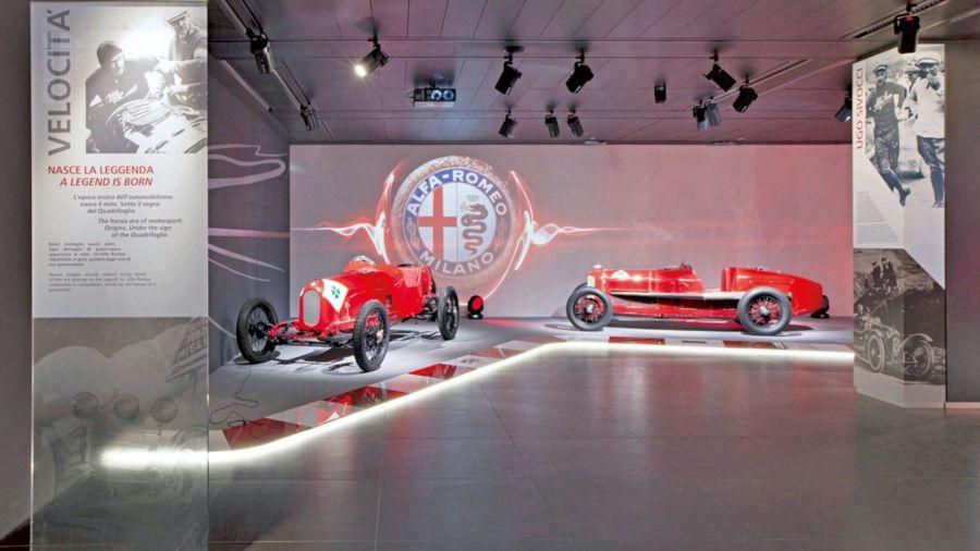 Secretos del museo Alfa Romeo