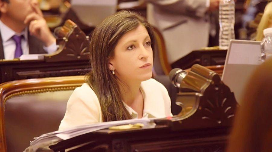 La diputada del Frente de Todos Fernanda Vallejos