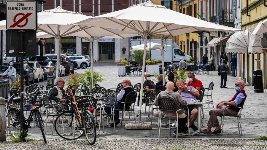 Fotogaleria Italia Coronavirus Bares y Restaurantes