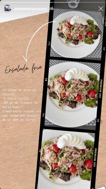 La receta saludable de Antonella Roccuzzo