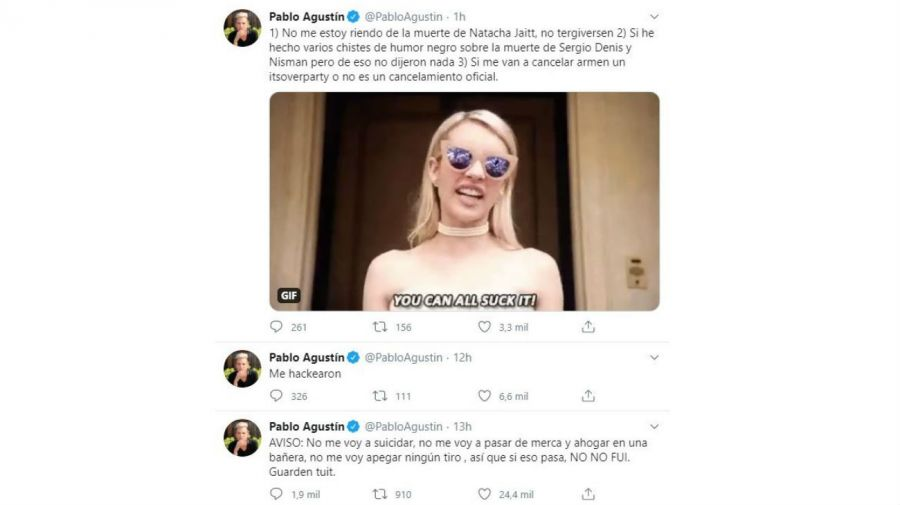 Burla de Pablo Agustin a Natacha