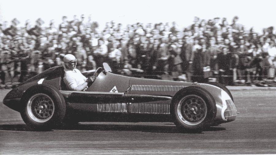 Primera carrera de Fórmula 1: 1950, Silverstone (Inglaterra)