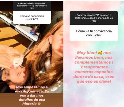 Mica Tinelli habló de su convivencia con Licha López