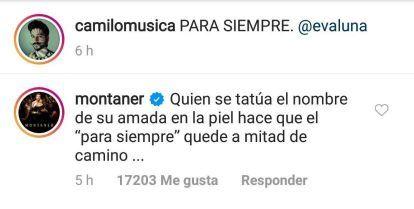 Ricardo Montaner contra Camilo