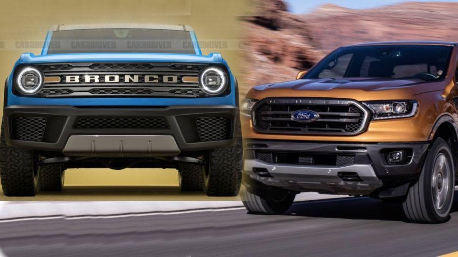 Ford Bronco y Ford Ranger