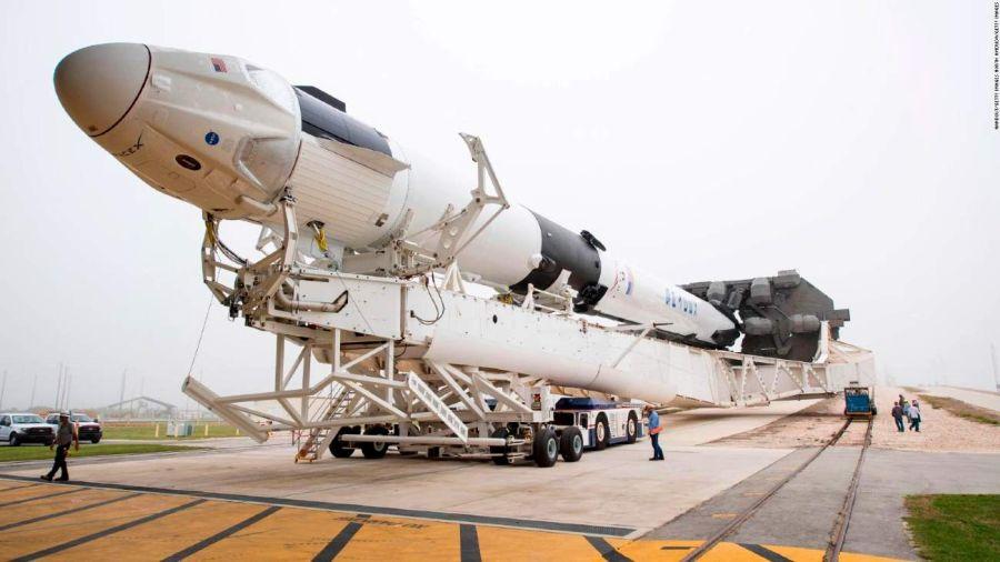 Histórico: hoy se lanza la primera misión tripulada de SpaceX