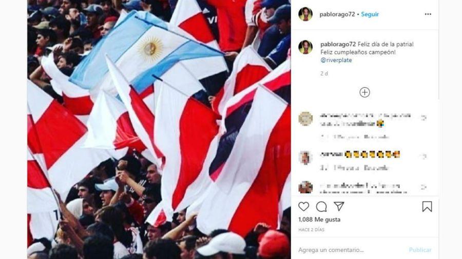 Pablo Rago volvió a instagram