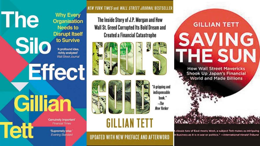 Gillian Tett es autora de varios best seller. Afirma: