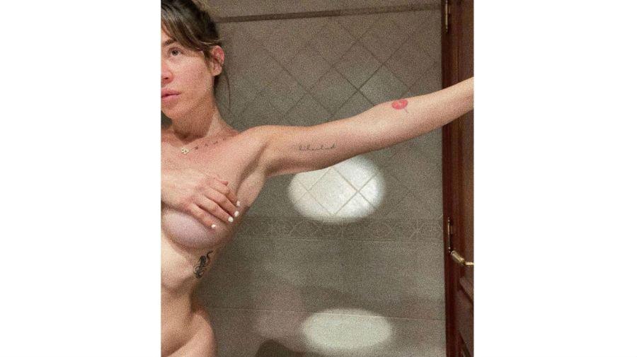 El desnudo de Jimena Barón