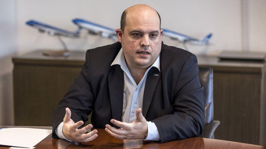 Aerolíneas Argentinas President Pablo Ceriani
