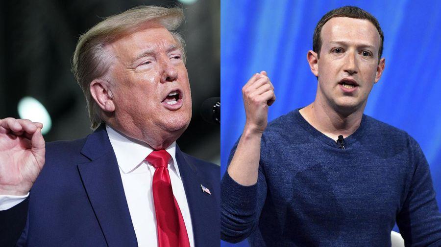 Zuckerberg y Trump 20200601