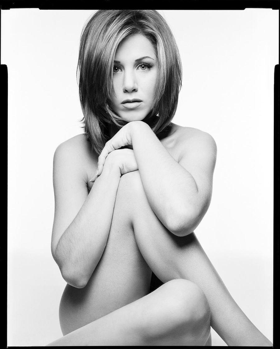 Jennifer Aniston retrado desnuda de 1995
