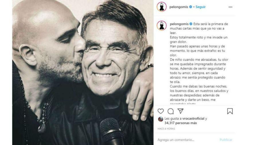 Mensaje del hijo de Héctor Suárez