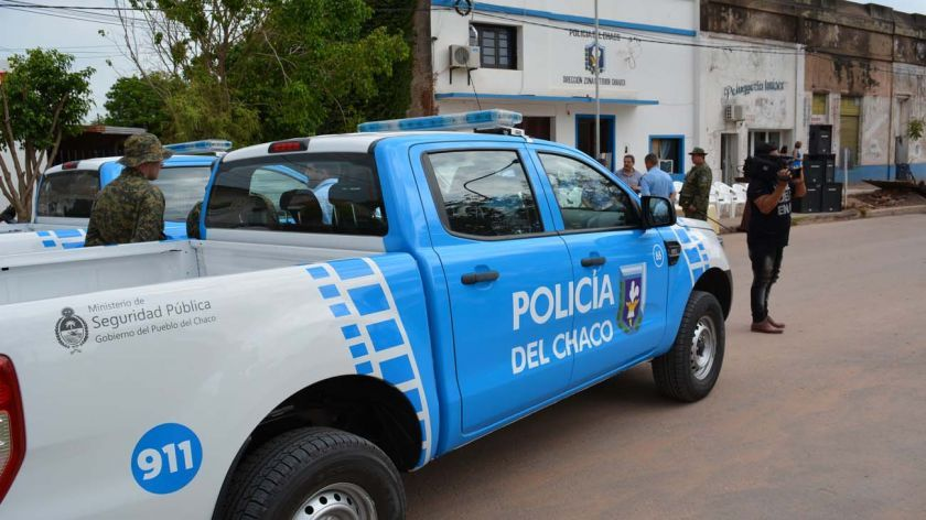 Police in Chaco
