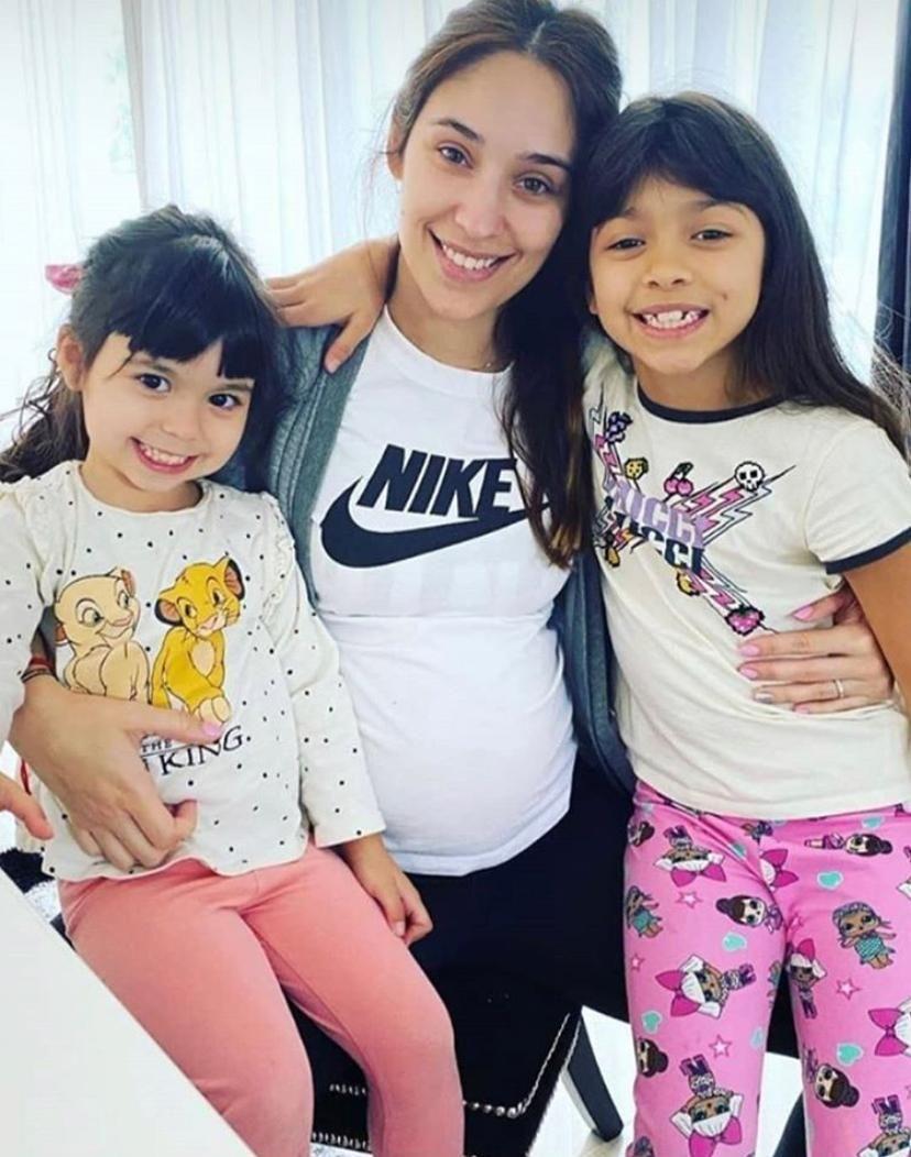 Eugenia Lusardo y Marcos Rojo esperan su tercer hijo
