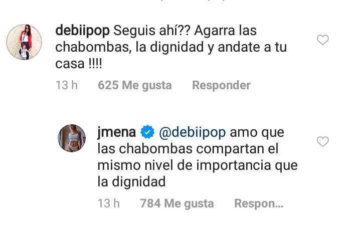 Jimena Barón respondió a sus seguidores