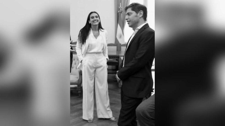 La pareja en la apertura de sesiones ordinarias de la Provincia de Buenos Aires-20200604
