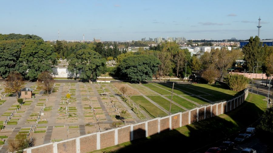 Cementerios de Flores y Chacarita en cuarentena 20200605