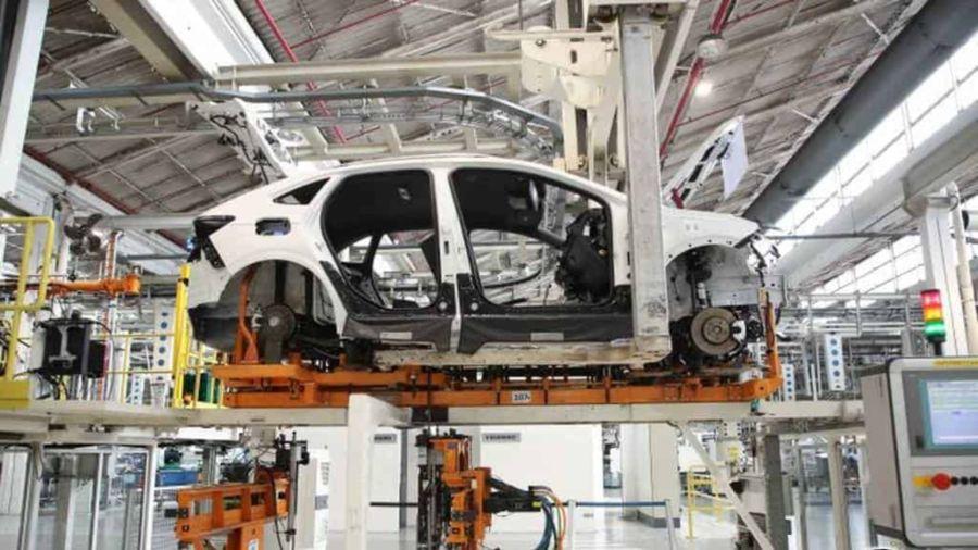 Producción Volkswagen Nivus