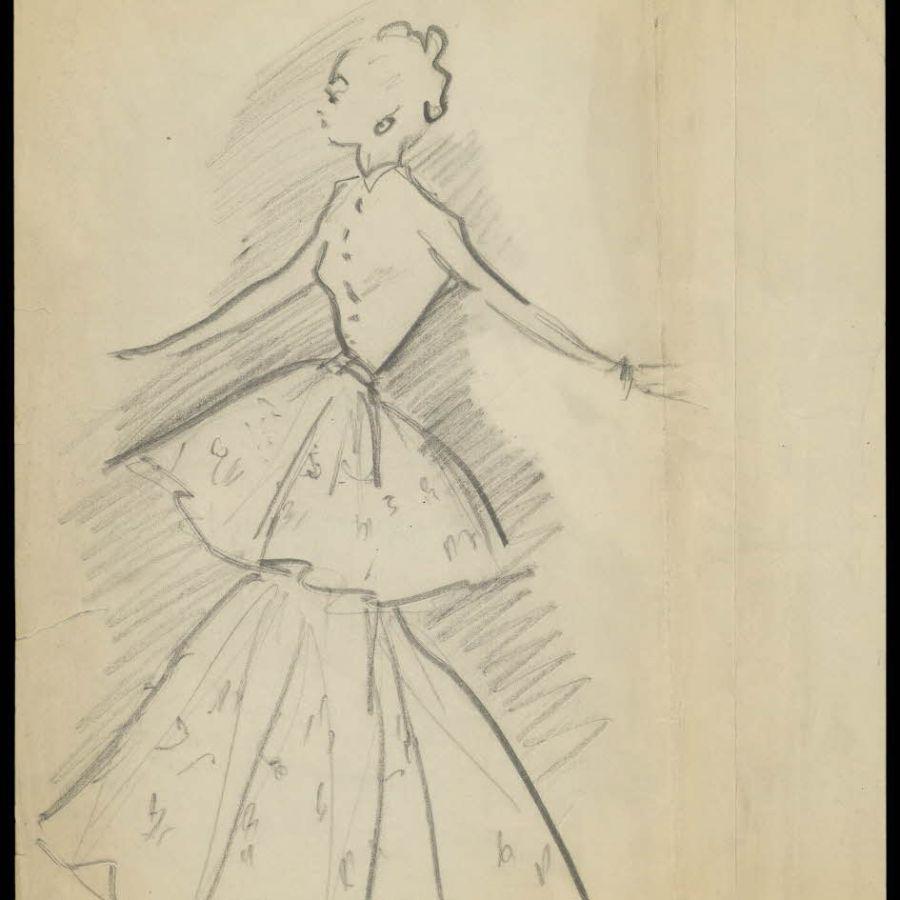 Dibujos Christian Dior
